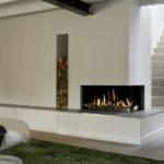 Foyer d'angle fonctionnant au gaz BELLFIRES Médium 310 - Atraconfort