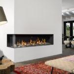 Foyer gaz en angle BELLFIRES - Atraconfort